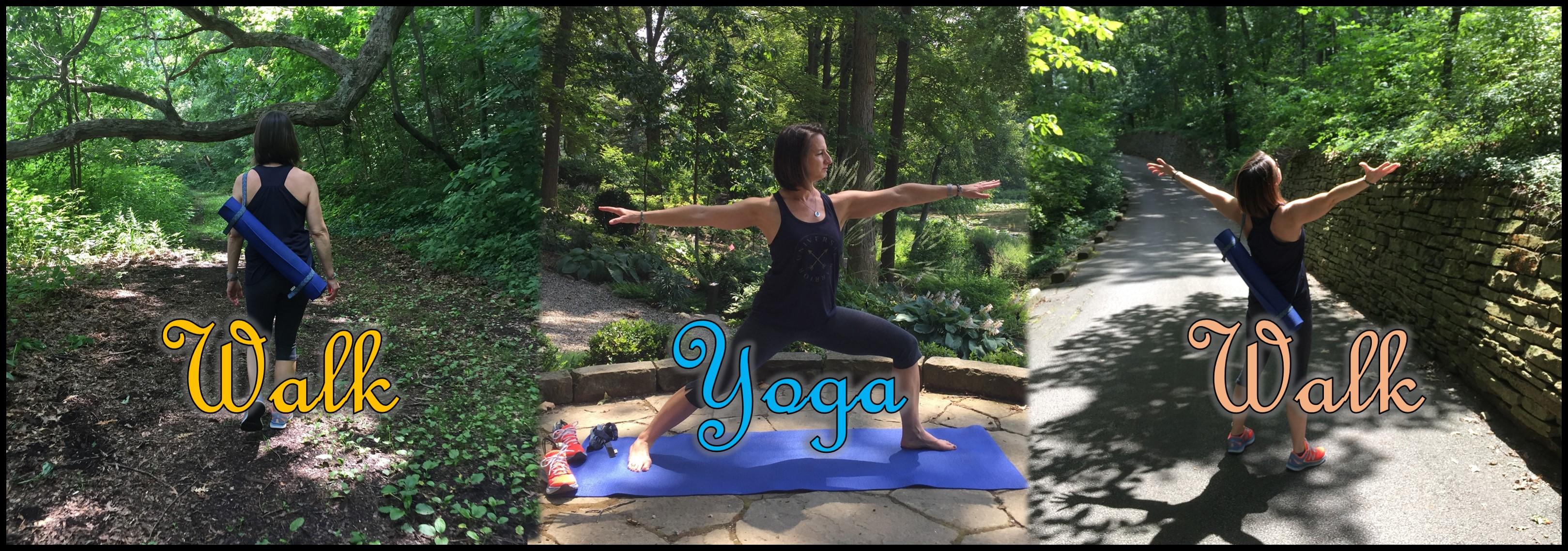 Walk-Yoga-Walk At Hidden Lake Gardens